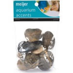 Purchase river rocks labeled for aquarium use. Craft-store rocks can be coated in chemicals.