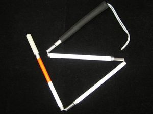 http://en.wikipedia.org/wiki/White_cane Author: Sarah Chester 2007-09-12