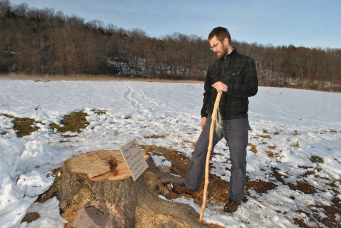 Hamden Hiker Peter Sagnella discovered a call to action instead of the tree he grew up visiting.