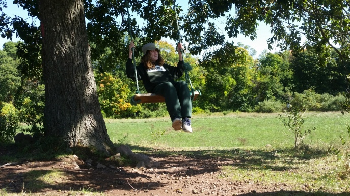 "Longtime park goer Kathy Hoyt is among many who cherished ""The Dream Tree"" photo supplied by K Hoyt"